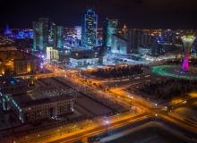 Astana in winter