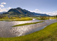 Ongudai, river Big Ulagan
