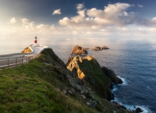 Cape Ortegal Lighthouse - is a lighthouse in the Province of A Coruna, Galicia, Spain.