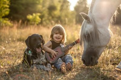 Bambini, a cavallo!